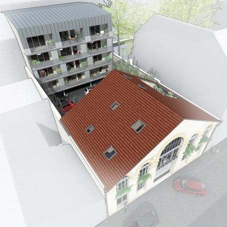 Réhabilitation et construction de 15 logements en centre ville : pers globale 18 02 02