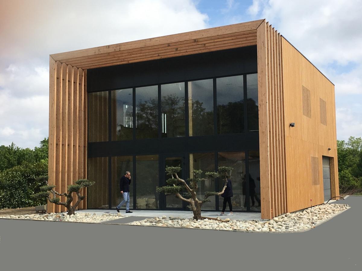 Bâtiment de bureau en ossature bois