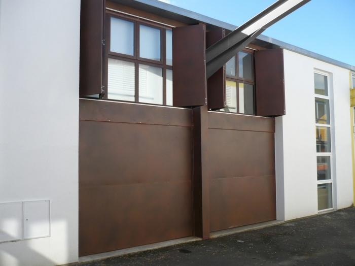 Maison-Loft à Bègles : Façade Ouverte