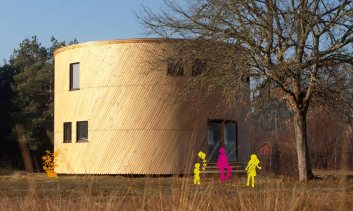 Beedomus maison ronde ossature bois , concours TADI : image_projet_mini_45511
