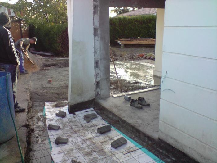 extension sur Caudéran : ouverture du garage