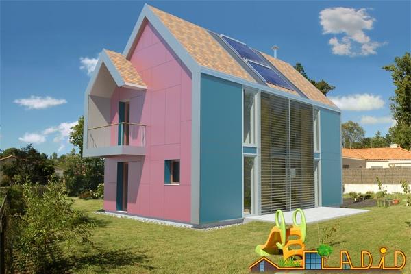 Maison 'Coeur de soleil' : Perspective 2