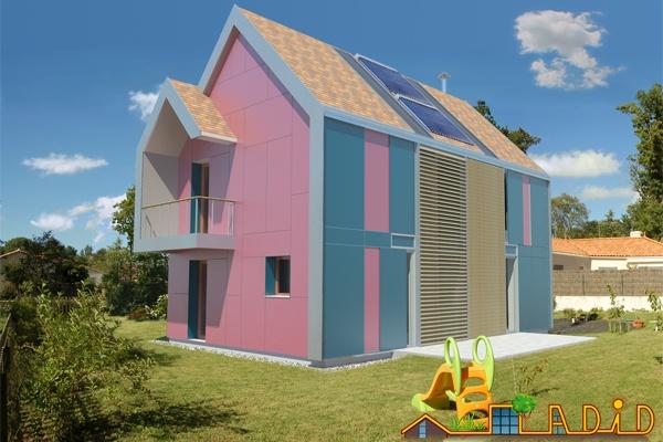 Maison 'Coeur de soleil'