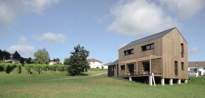 Maison ossature bois labelisée BBC