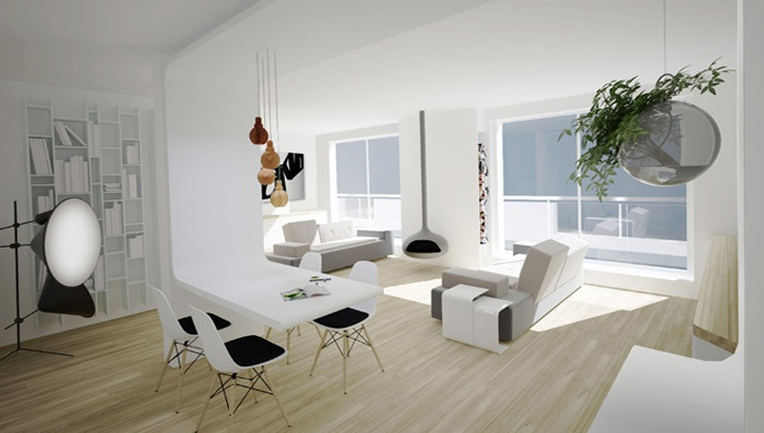 Appartement familial + Studio en annexe