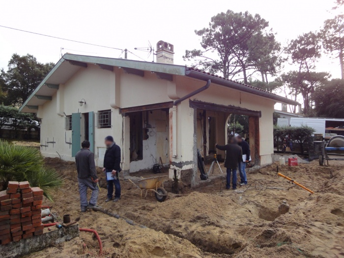 Extension d'une villa canon au Cap-Ferret 2014 : DSC03555.JPG