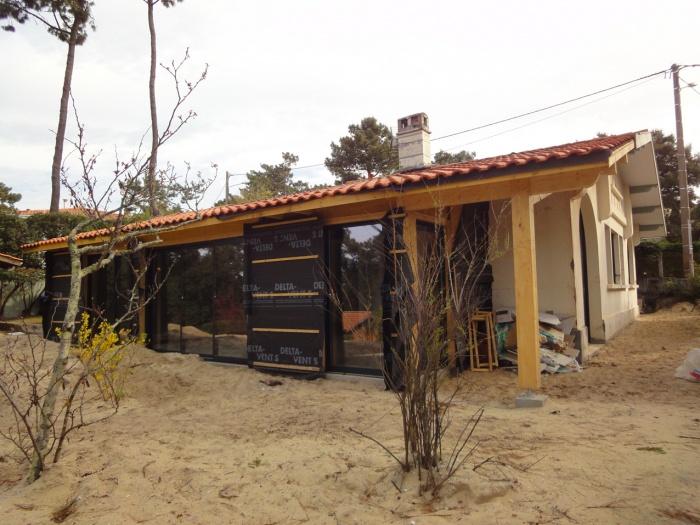Extension d'une villa canon au Cap-Ferret 2014 : DSC04171.JPG