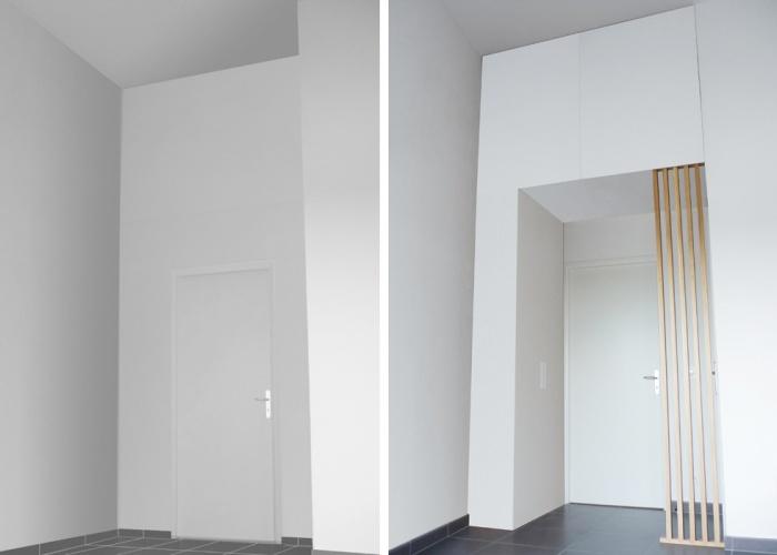 Design Mobilier pour un particulier : Y+S-JUVISY-MEUBLE-PASSAGE-AVANT-APRES
