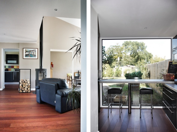 Rénovation et extension d'une maison : DUCO5