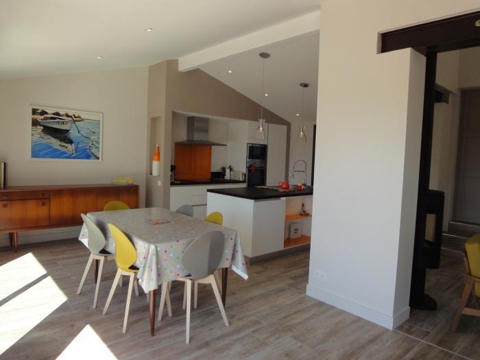 Extension d'une villa canon au Cap-Ferret 2014