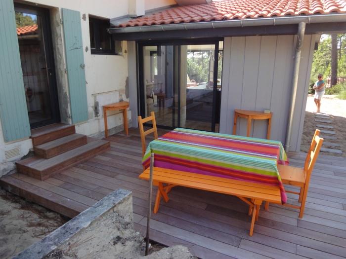 Extension d'une villa canon au Cap-Ferret 2014 : DSC05691.JPG