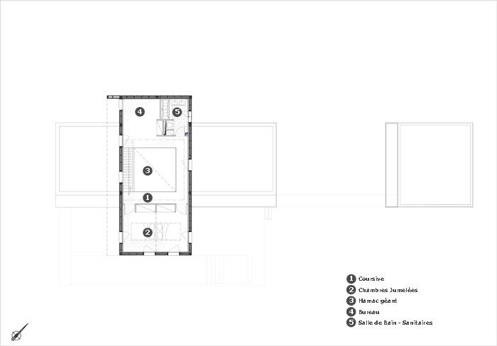 Maison l'Estelle : CER_03_PlanR+1