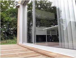 Mon Bureau dans Mon Jardin : terrasse
