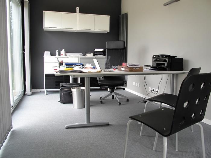 Mon Bureau dans Mon Jardin : intérieur