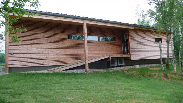 Maison individuelle à ossature bois BBC