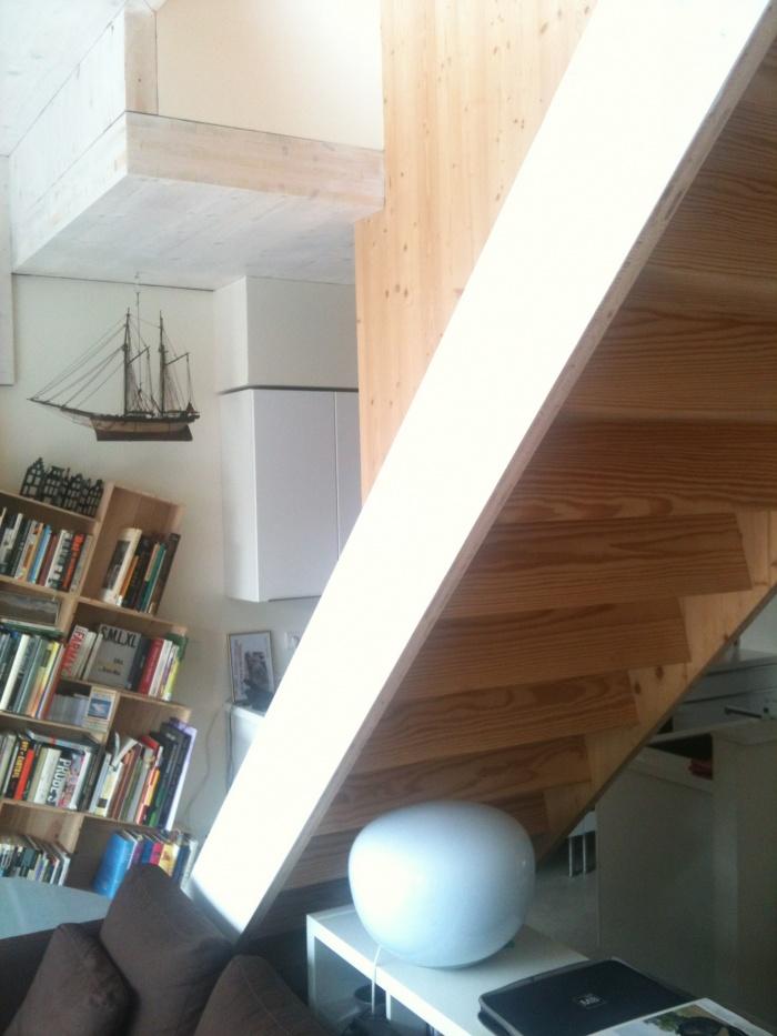 Maison Mayaudon : détail escalier