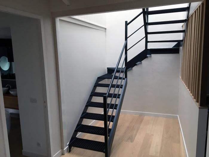 Maison 49 : escalier