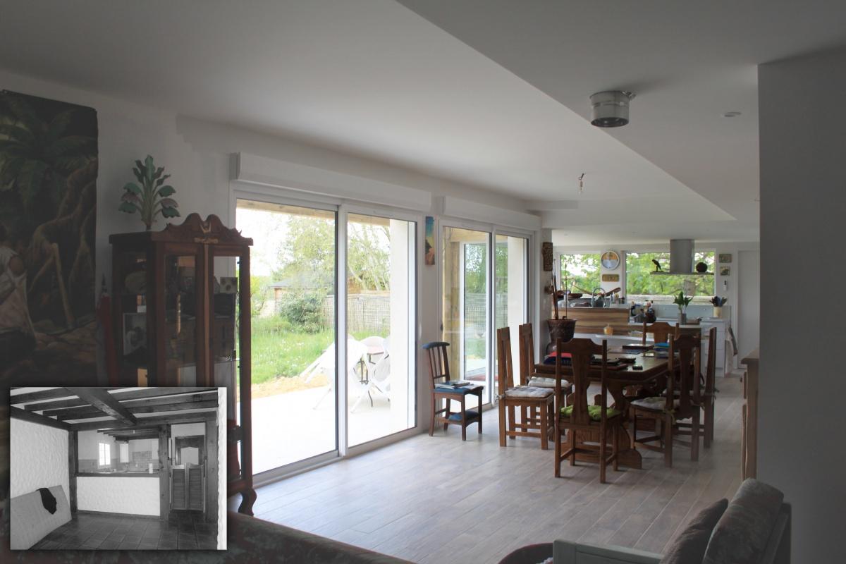 Maison M (rénovation et extension) : 11 int 1