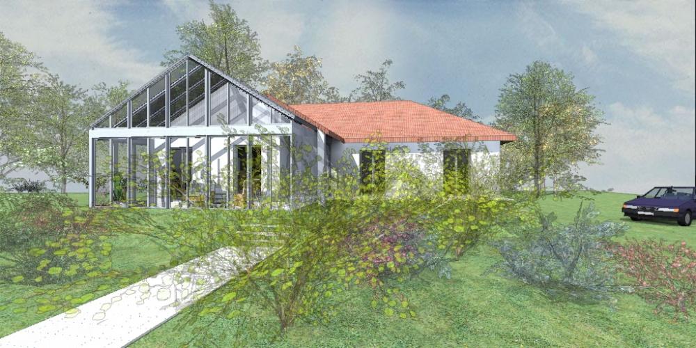 Rénovation et extension - serre bioclimatique : image_projet_mini_99396