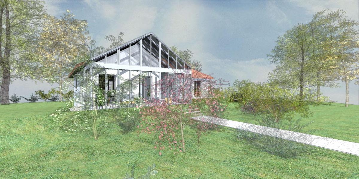 Rénovation et extension - serre bioclimatique : 3 Cam_1 esq2