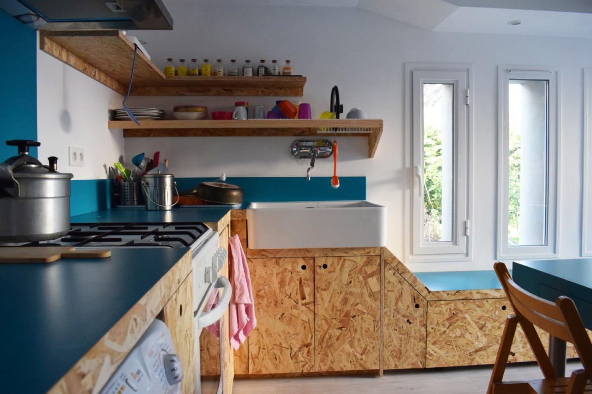 Rénovation et aménagement du garage en pièce de vie