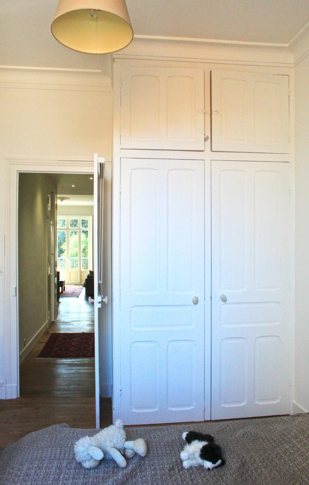Rénovation d'un appartement de type haussmanien : 11 chambre.JPG